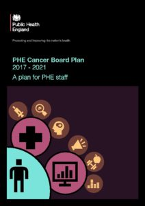 PHE Cancer Board Plan: 2017 To 2021