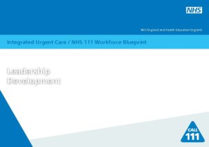 Integrated urgent care nhs 111 workforce blueprint leadership workforce blueprint leadership development download malvernweather Gallery