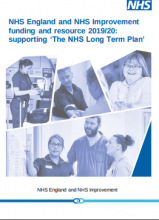 NHS England and NHS Improvement funding and resource 2019 ...
