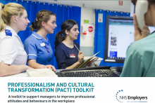 Professionalism and Cultural Transformation (PACT) toolkit: A toolkit to support managers to improve professional attitudes and behaviours in the workplace