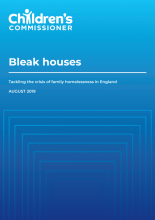 Bleak houses: Tackling the crisis of family homelessness in England