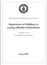 Separation of children in young offender institutions: A thematic review