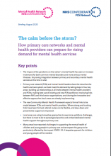 The calm before the storm? How primary care networks and mental health providers can prepare for rising demand for mental health services