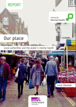 Our place: Local authorities and the public's mental health